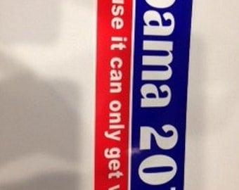 2016 Presidental Election bumper sticker