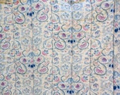 Rare Discontinued Ralph Lauren Provence  Pattern Antique French Scroll Twin Comforter