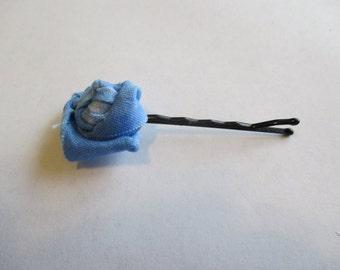 Fabric Rose Pin