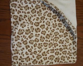 Cheetah Print Wash Cloth