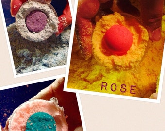 Color Burst Bath Bombs
