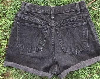 Vintage Wrangler Black Cutoff Shorts