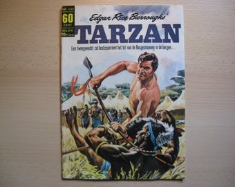 An old Classics comic book nr 1222 Edgar Rice Burroughs: Tarzan the fight of the Bushmen