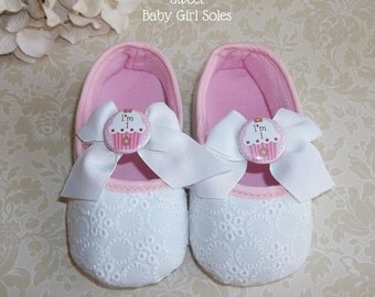 Cupcake Birthday - Cupcake Birthday Outfit - Cupcake First Birthday Outfit - Cupcake Shoes - Cupcake 1st Birthday Outfit