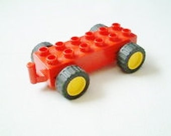 Lego Duplo Pre-school Pull-Back Motor with Hitch 2318