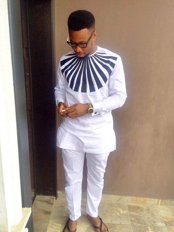 African Clothing For Men Traditional African Print Clothing