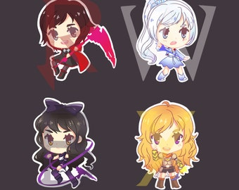 Chibi RWBY Stickers