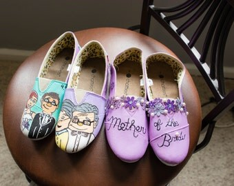 Up Themed Wedding Shoes