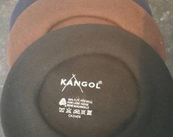 French Beret Kangol size small new 100% Wool Woolmark