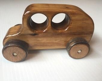 Handmade Wooden Toy Van