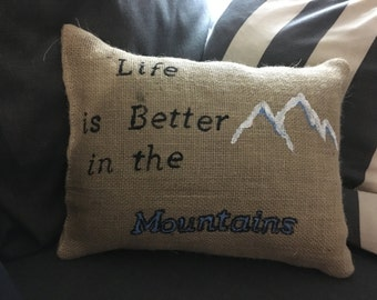 Phrase pillow