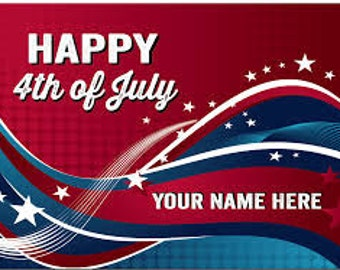 4th of July Video Greeting Cards