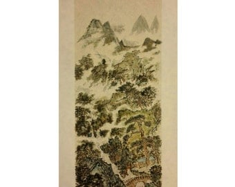 Traditional Chinese Painting, Original Painting, Landscape Painting, Asian Art