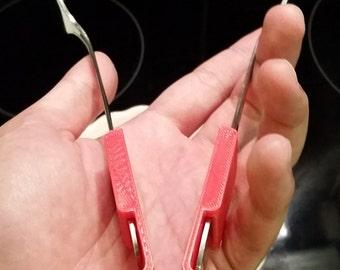 Fork Tongs 3D Printed