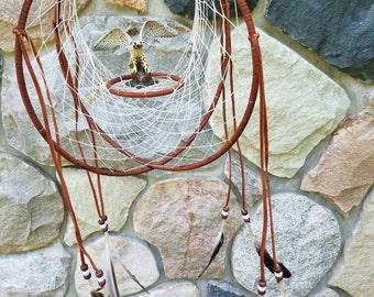 Falcon double hoop dreamcatcher