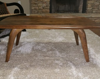 Mid Century Modern Haywood Wakefield Coffee Table