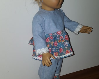 Handmade, 18 inch doll clothes, fits American Girl Doll and other 18 inch dolls
