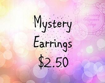 Mystery Polymer Clay Earrings