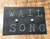 Opal Earrings // Gemstone Earrings // Wail Song