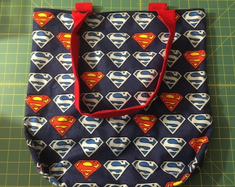 Superman Tote Bag