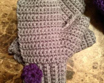 Crochet Mittens 1-4 yr old