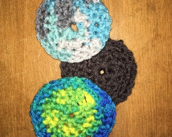 Crocheted Facial Pads (Set of 5)