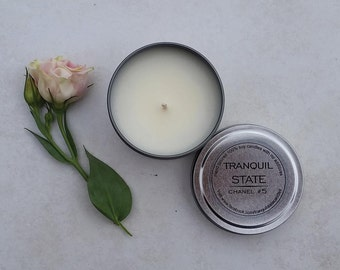 Beautiful Soy Candle Travel Tin