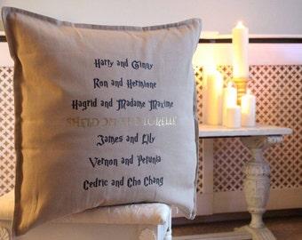 Harry Potter Couples Cushion