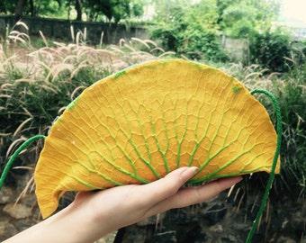 Gabgab - Lotus leaf rubber bag (Big size)