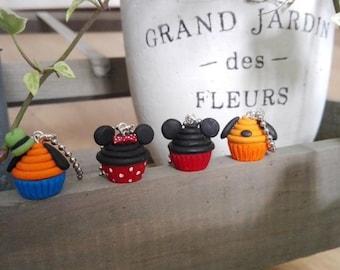 Disney Cupcake Necklace