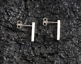 BENGT unique handmade sterling silver earrings jewellery jewelry sleek studs simplistic minimalistic modern fashionable cool divine gift