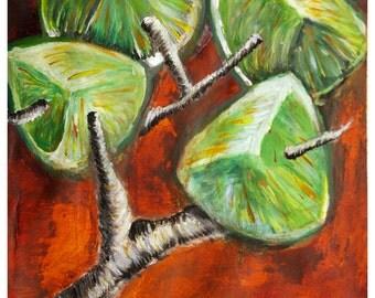 Rustic Limes - Acrylic - 12x10