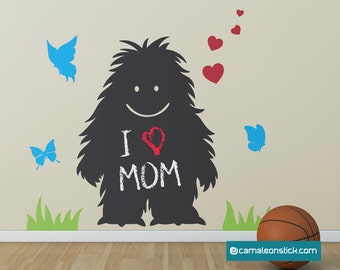 Soft adhesive Whiteboard-wall stickers for children