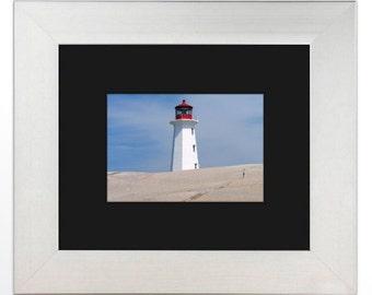 Peggy's Cove Lighthouse, Framed Photograph