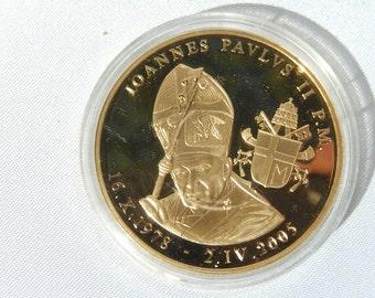 Medal Vatican John Paul II.