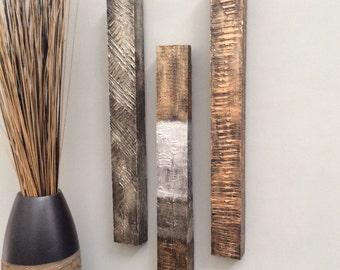 Modern, Original, Handmade, Textured, Contemporary Wall Art (individual #2)