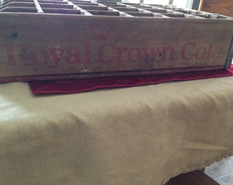 Royal Crown Cola Wooden Crate