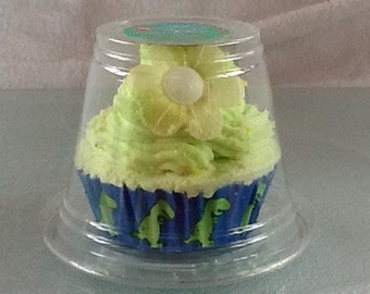 2 in 1 Bath Cupcake with Whipped Soap frosting