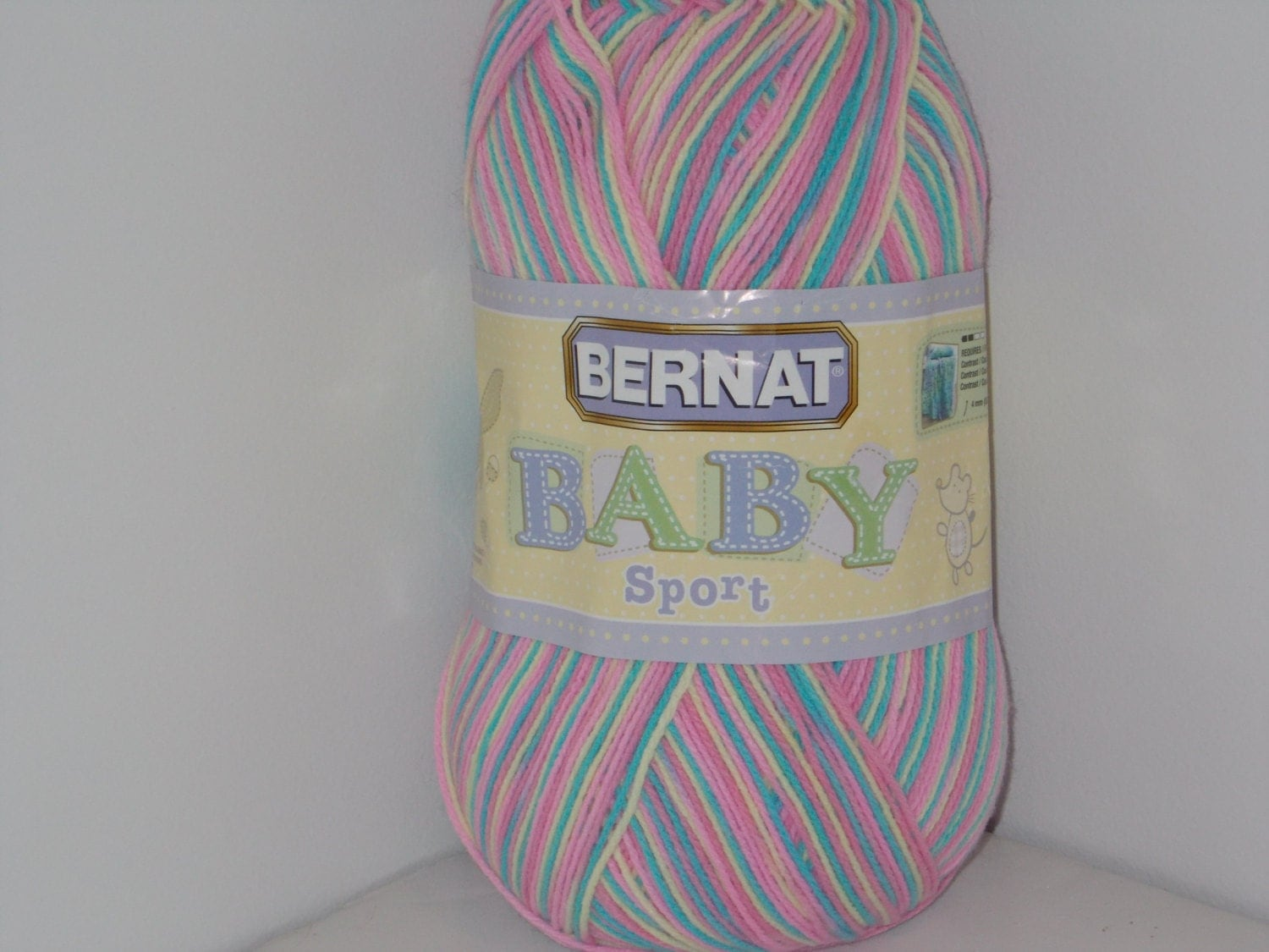 Bernat Baby Sport Big Ball Yarn Pajama Party Ombre