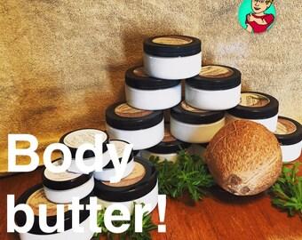 Coconut Concepts Body Butter 8 oz jar