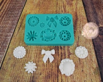 Brooches Silicone Mold