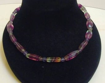 Banded Flourite Necklace