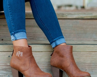 SALE!!! (Size 11 Only) Ashlyn Boots, FREE PERSONALIZATION, Personalized Boots, , Monogrammed Boots