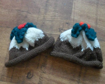 Christmas Pudding hats
