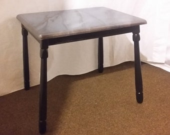 Pearl Topped Side Table