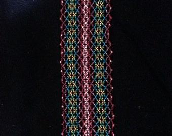 Rainbow Seed Bead Bracelet
