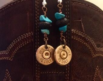 45 colt earrings