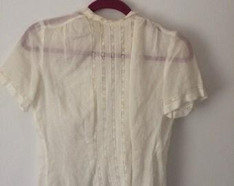 Vintage Sheer Top