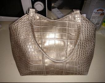 Vintage St. John's Bay Imitation Snake Skin Handbag