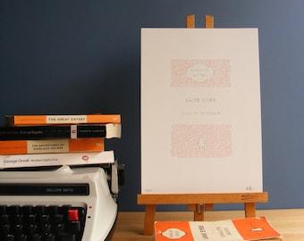 Jane Eyre | Literary Print
